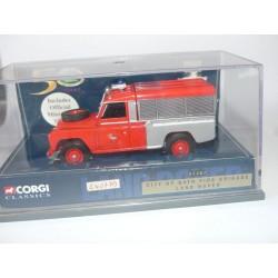 LAND ROVER FIRE BRIGADE POMPIERS CORGI 07407 1:43