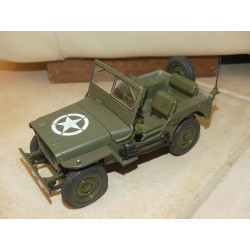 JEEP WILLYS MILITAIRE SOLIDO 1:18 sans boite