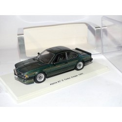 BMW ALPINA B7 S TURBO COUPE 1985 Vert SPARK S0743 1:43