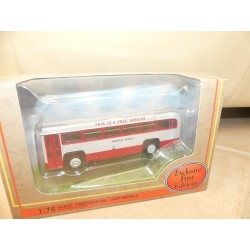 CAR BUS AEC RF MK1 SILVERLINE COACHES GILBOW EFE 23322 1:76