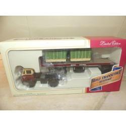CAMION BMC FLATED TRAILER BRITISH RAIL CORGI CC13306 1:50