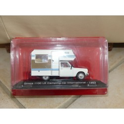 CAMPING CAR SIMCA 1100 INTERNATIONAL 1983 IXO PRESSE 1:43