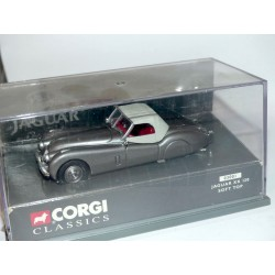 JAGUAR XK120 SOFT TOP Gris CORGI 03001 1:43