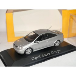 OPEL ASTRA G COUPE Gris MINICHAMPS 1:43