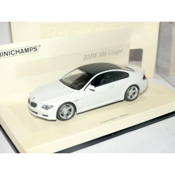 BMW SERIE 6 COUPE M6 2006 Blanc Toit Noir MINICHAMPS 1:43