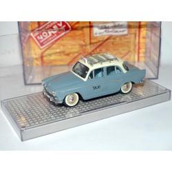 SIMCA ARONDE P60 ELYSEE 1960 TAXI Gris Bleu NOREV 1:43 576001