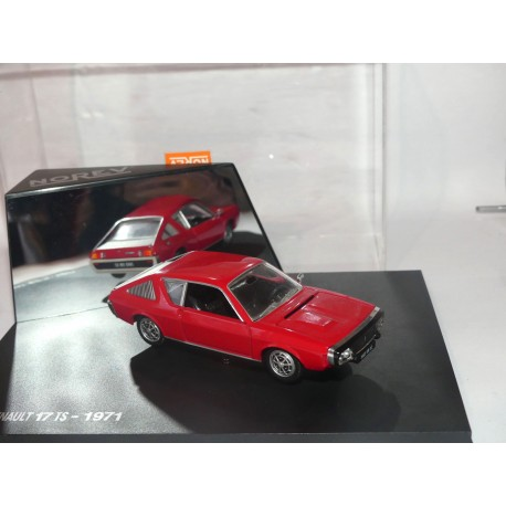 RENAULT 17 TS 1971 Rouge NOREV 1:43
