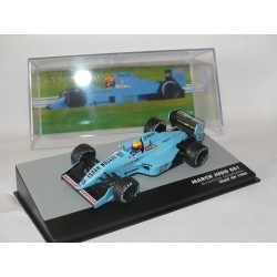 MARCH JUDD 881 GP D'ITALY 1988 M. GUGELMIN PANINI EDITION 1:43