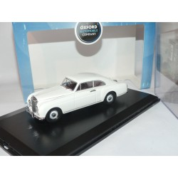 BENTLEY CONTINENTAL Blanc OXFORD DIECAST BFC003 1:43