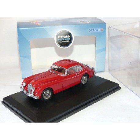 JAGUAR XK150 FHC Rouge OXFORD DIECAST 1:43
