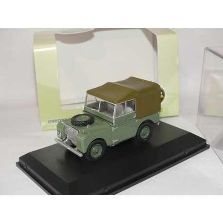 LAND ROVER EXPORT VERSION OXFORD DIECAST 1:43