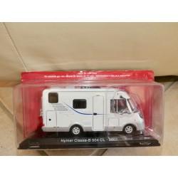 CAMPING CAR HYMER CLASSE-B 504 CL 2007 IXO PRESSE 1:43