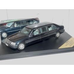 MERCEDES S 600 PULLMAN 1997 Gris Foncé Limousine VITESSE V98050 1:43