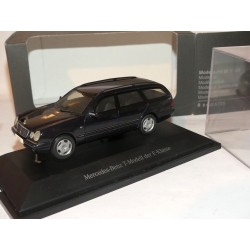 MERCEDES CLASSE E 320 BREAK AVANTGARDE W210 Noir HERPA 1:43