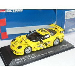 CHEVROLET CORVETTE C5-RN°3 24 H DE DAYTONA 2001 MINICHAMPS ACTION 1:43 1er