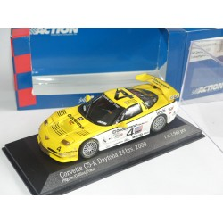 CHEVROLET CORVETTE C5-RN°4 24 H DE DAYTONA 2000 MINICHAMPS ACTION 1:43 1er