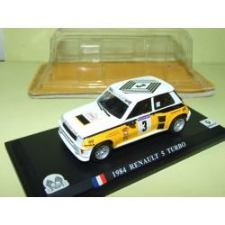 RENAULT 5 TURBO RALLYE TOUR DE FRANCE AUTO 1984 J. RAGNOTTI DEL PRADO 1:43 1er blister