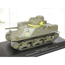 VEHICULE MILITAIRE N°25 M3 Lee Medium Tank 1942 EAGLEMOSS 1:43