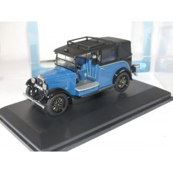 BURGUNDY AUSTIN LOW LOADER TAXI Bleu et Noir OXFORD DIECAST 1:43