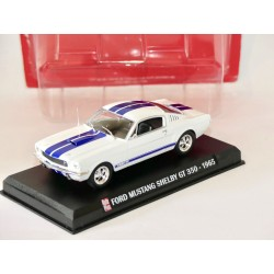 FORD MUSTANG SHELBY GT 350 1965 Blanc AUTO PLUS 1:43