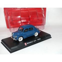 RENAULT 4CV 1955 Bleu AUTO PLUS 1:43