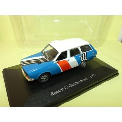 RENAULT 12 GORDINI BREAK 1973 Assisitance Course ELIGOR HACHETTE 1:43