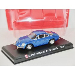 RENAULT ALPINE A110 1600S 1973 Bleu AUTO PLUS 1:43