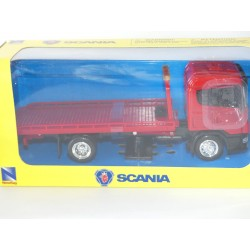 CAMION SCANIA DEPANNEUSE Rouge NEW RAY 1:43