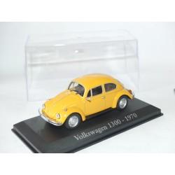 VW COCCINELLE 1300 1970 Jaune Orangé ALTAYA 1:43