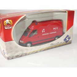 RENAULT MASTER SAPEURS POMPIERS PC 2 SOLIDO 1:50