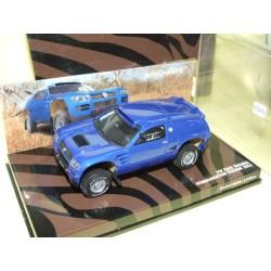 VW TOUAREG RACE Version Homologation PARIS DAKAR 2003 MINICHAMPS 1:43 défaut contreboite