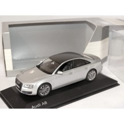 AUDI A8 D4 Gris KYOSHO 1:43 Option Toit Carbone