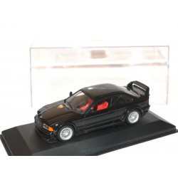 BMW M3 GTR  E36 STREET VERSION Noir MINICHAMPS 1:43