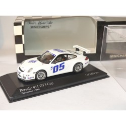 PORSCHE 911 GT3 CUP 997 PRESENTATION 2005 MINICHAMPS 1:43