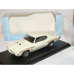 PONTIAC GTO THE JUDGE 1970 Blanc NEO 45985 1:43