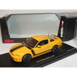 FORD MUSTANG BOSS 302 Orange et Noir SCHUCO PRO.43 1:43
