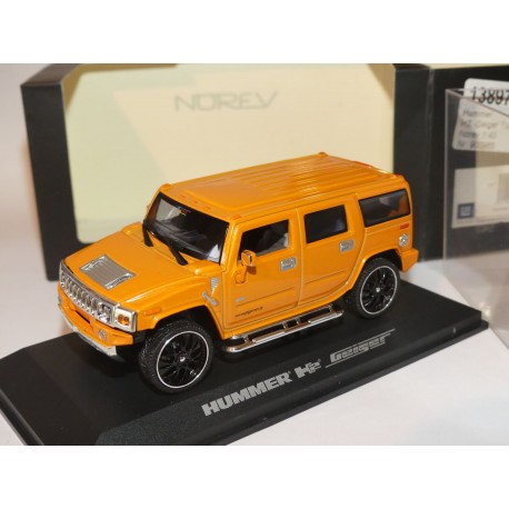HUMMER H2 GEIGER TUNING Orange NOREV 1:43