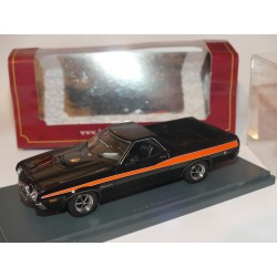 FORD RANCHERO PICK UP Noir et Rouge NEO 1:43