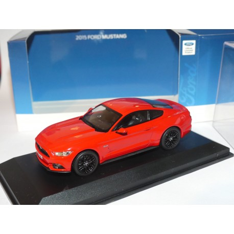FORD MUSTANG 2015 Rouge NOREV 1:43