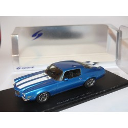 CHEVROLET CAMARO Z28 1970 Bleu et bandes Blanches SPARK S2610 1:43