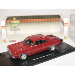 DODGE DART 1968 Bordeaux et Noir HIGHWAY61 1:43