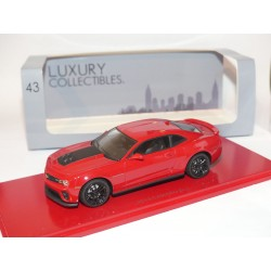 CAMARO ZL1 2013 Rouge et Noir LUXURY COLLECTIBLE 1:43