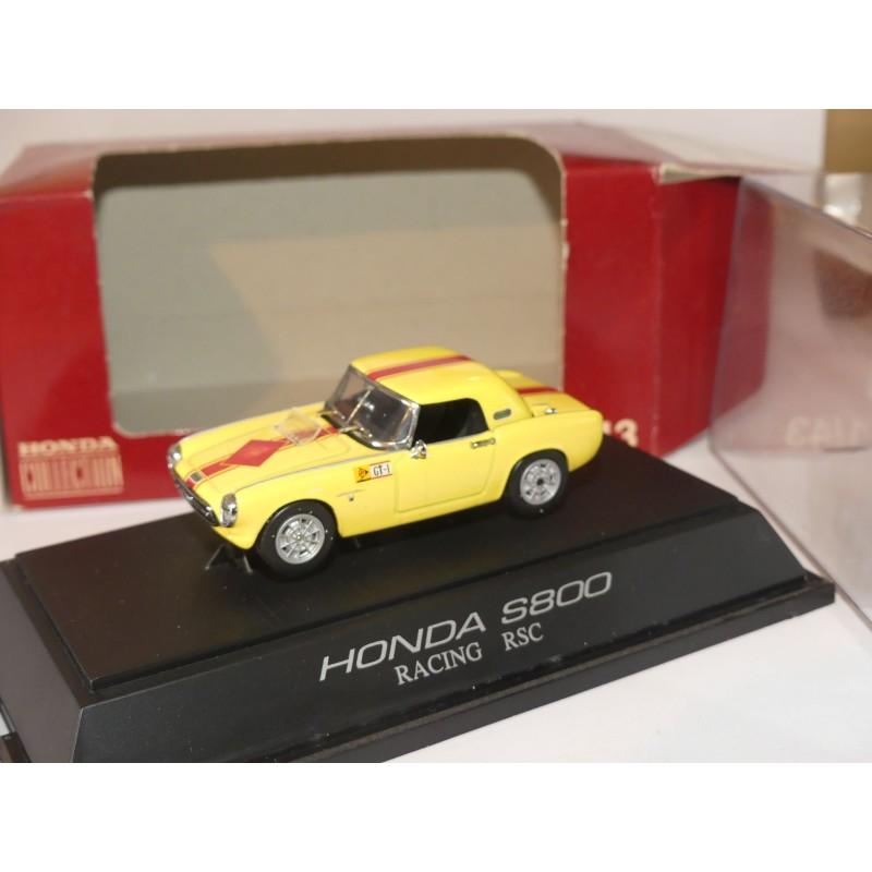HONDA S800 RACING Jaune EBBRO 3600 1:43