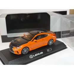 LEXUS RC F CARBON EXTERIOR PACKAGE Orange KYOSHO 1:43