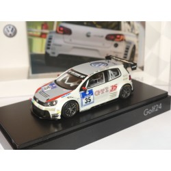 VW GOLF 24 N°35 NURBURGRING SPARK  1:43