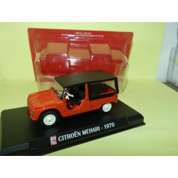 CITROEN MEHARI 1970 Rouge AUTO PLUS 1:43