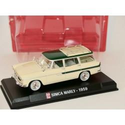 SIMCA MARLY 1959 Beige et Vert AUTO PLUS 1:43