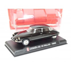 CITROEN DS 19 PALLAS 1965 Noir AUTO PLUS 1:43