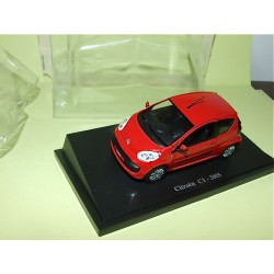 CITROEN C1 2005 Rouge UNIVERSAL HOBBIES 1:43 sous blister