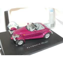 PLYMOUTH PROWLER Violet UNIVERSAL HOBBIES 1:43